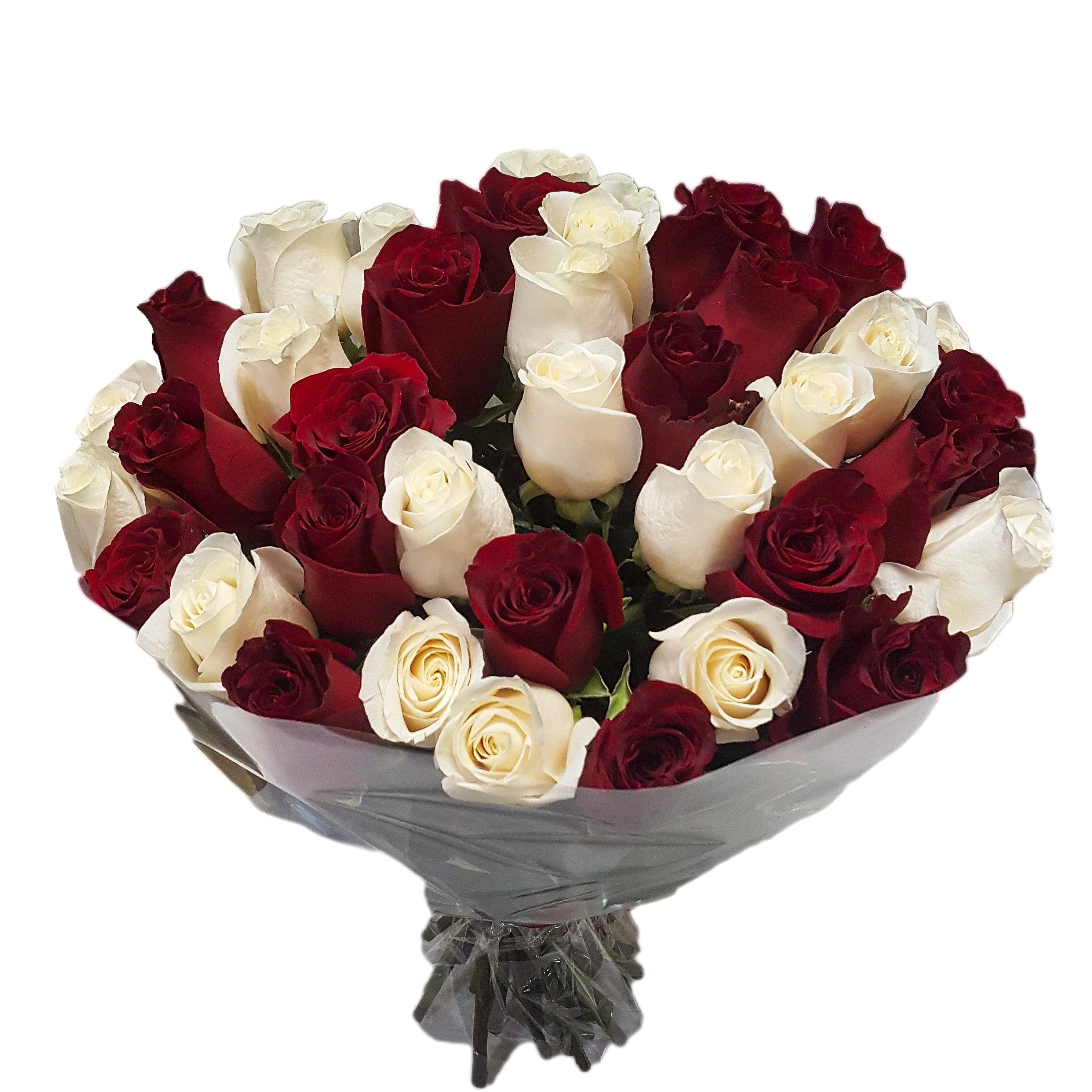 Цветы заказ, букет из 39 роз купить